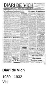 diari de vich