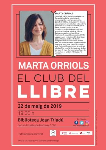 Club del llibre_ Marta Orriols
