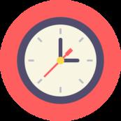 clock-flat