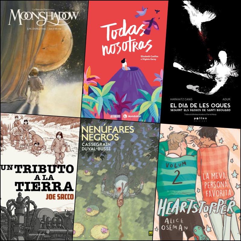 Butlletí de novetats: Còmics Primer semestre de 2021